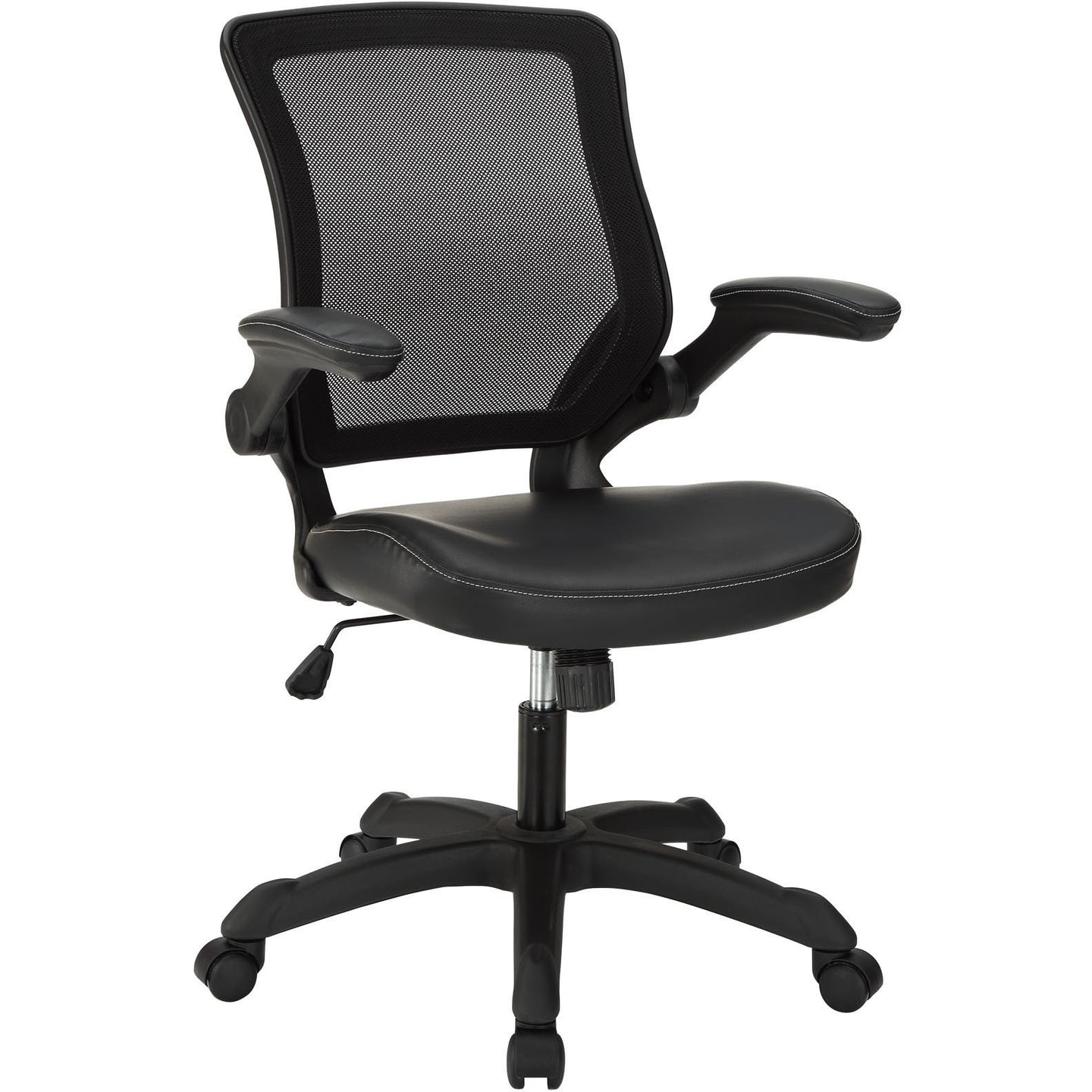 Modway Modern Veer Vinyl Adjustable Computer Office Chair EEI-291-Minimal & Modern