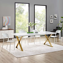 Modway Furniture Modern Sector Dining Table - EEI-3034-Minimal & Modern
