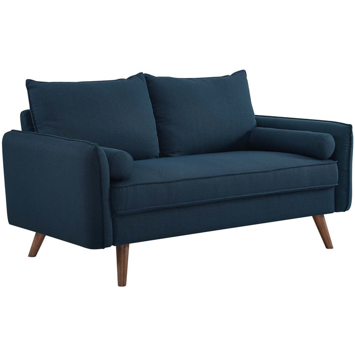 Modway Furniture Modern Revive Upholstered Fabric Loveseat - EEI-3091