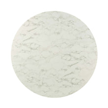 "Modway Furniture Modern Lippa 54"" Round Artificial Marble Dining Table - EEI-3244"