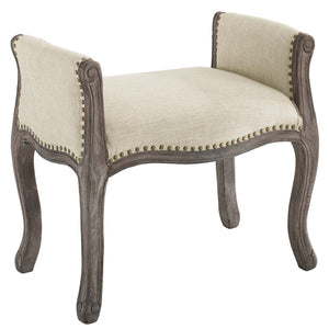 Modway Furniture Modern Avail Vintage French Upholstered Fabric Bench - EEI-3370