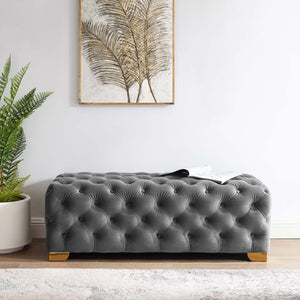 Modway Furniture Modern Sensible Button Tufted Performance Velvet Bench - EEI-3411