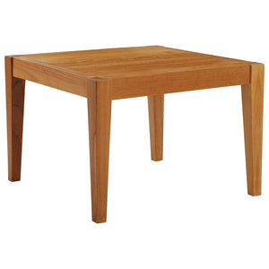 Modway Furniture Modern Northlake Outdoor Patio Premium Grade A Teak Wood Side Table - EEI-3431