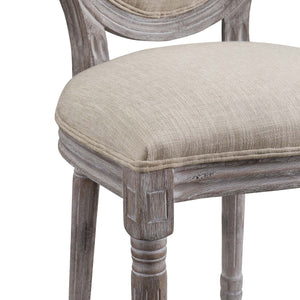 Modway Furniture Modern Emanate Dining Side Chair Upholstered Fabric Set of 2 - EEI-3467