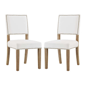 Modway Furniture Modern Oblige Dining Chair Wood Set of 4 - EEI-3477