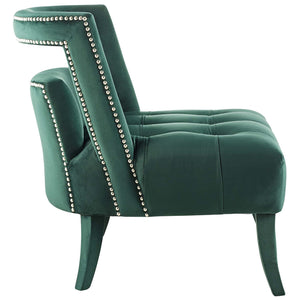 Modway Furniture Modern Honor Accent Lounge Performance Velvet Armchair - EEI-3486