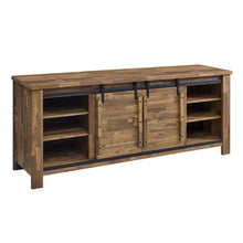 "Modway Furniture Modern Cheshire 71"" Rustic Sliding Door TV Stand - EEI-3489"