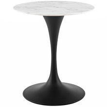 "Modway Furniture Modern Lippa 28"" Round Artificial Marble Dining Table - EEI-3515"