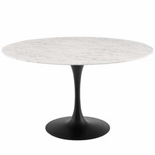 "Modway Furniture Modern Lippa 54"" Round Artificial Marble Dining Table - EEI-3528"