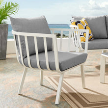 Modway Furniture Modern Riverside Outdoor Patio Aluminum Armchair - EEI-3566