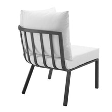 Modway Furniture Modern Riverside Outdoor Patio Aluminum Corner Chair - EEI-3569