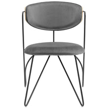 Modway Furniture Modern Prevail Black Frame Dining and Accent Performance Velvet Chair - EEI-3605