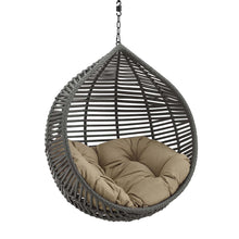 Modway Furniture Modern Garner Teardrop Outdoor Patio Swing Chair Without Stand - EEI-3637