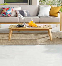 Modway Furniture Modern Sedona Outdoor Patio Eucalyptus Wood Coffee Table - EEI-3682