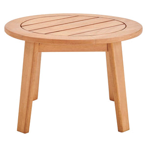 Modway Furniture Modern Vero Ash Wood Outdoor Patio Side End Table - EEI-3707