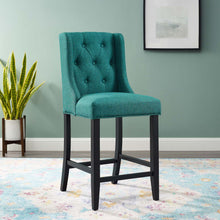 Modway Furniture Modern Baronet Tufted Button Upholstered Fabric Counter Stool - EEI-3739