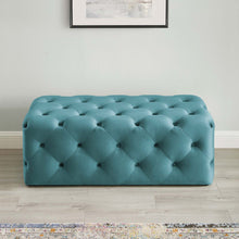 "Modway Furniture Modern Amour 48"" Tufted Button Entryway Performance Velvet Bench - EEI-3768"