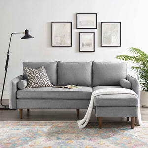 Modway Furniture Modern Revive Upholstered Right or Left Sectional Sofa - EEI-3867