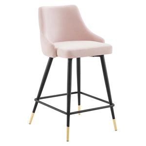 Modway Furniture Modern Adorn Performance Velvet Counter Stool - EEI-3908