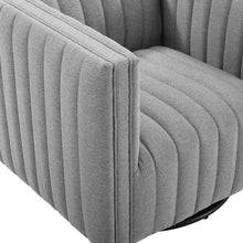 Modway Furniture Modern Conjure Tufted Swivel Upholstered Armchair - EEI-3926