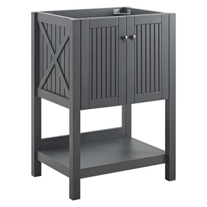 "Modway Furniture Modern Steam 23"" Bathroom Vanity Cabinet (Sink Basin Not Included) - EEI-3942"