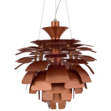 "Modway Furniture Petal 28"" Chandelier Copper, Lighting - Modway Furniture, Minimal & Modern - 15"