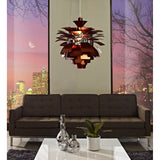 "Modway Furniture Petal 28"" Chandelier , Lighting - Modway Furniture, Minimal & Modern - 19"