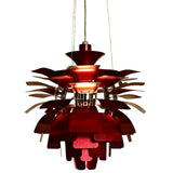 "Modway Furniture Petal 28"" Chandelier Red, Lighting - Modway Furniture, Minimal & Modern - 10"