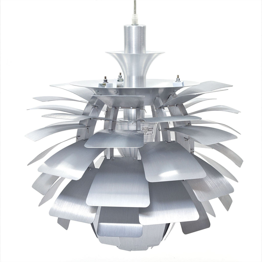 "Modway Furniture Petal 28"" Chandelier Silver, Lighting - Modway Furniture, Minimal & Modern - 1"