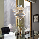 "Modway Furniture Petal 28"" Chandelier , Lighting - Modway Furniture, Minimal & Modern - 9"