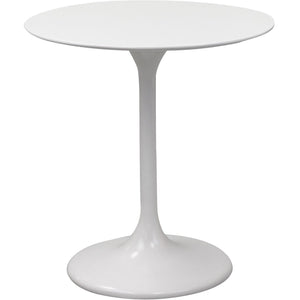 "Modway Furniture Lippa 28"" Fiberglass White Side Table EEI-513-WHI-Minimal & Modern"