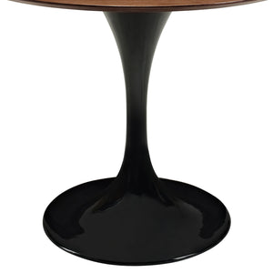 "Modway Furniture Lippa 36"" Modern Walnut Dining Table EEI-524-Minimal & Modern"