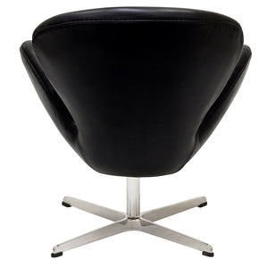 Modway Furniture Modern Wing Leather Lounge Chair EEI-527-Minimal & Modern