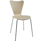 Modway Furniture Ernie Modern Dining Side Chair Natural, Dining Chairs - Modway Furniture, Minimal & Modern - 5