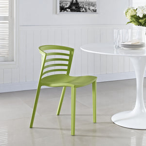 Modway Furniture Curvy Modern Dining Side Chair EEI-557-Minimal & Modern