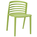 Modway Furniture Curvy Modern Dining Side Chair Green, Dining Chairs - Modway Furniture, Minimal & Modern - 5