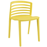 Modway Furniture Curvy Modern Dining Side Chair Yellow, Dining Chairs - Modway Furniture, Minimal & Modern - 17