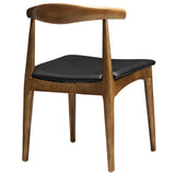 Modway Furniture Tracy Modern Black Dining Side Chair , Dining Chairs - Modway Furniture, Minimal & Modern - 3