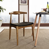 Modway Furniture Tracy Modern Black Dining Side Chair , Dining Chairs - Modway Furniture, Minimal & Modern - 4