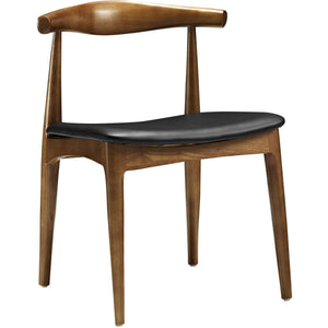 Modway Furniture Tracy Modern Black Dining Side Chair EEI-559-BLK-Minimal & Modern