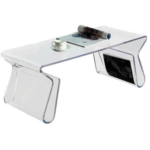 Modway Furniture Magazine Acrylic Coffee Table EEI-562-Minimal & Modern