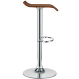 Modway Furniture Bentwood Modern Bar Stool , Bar Stools - Modway Furniture, Minimal & Modern - 2