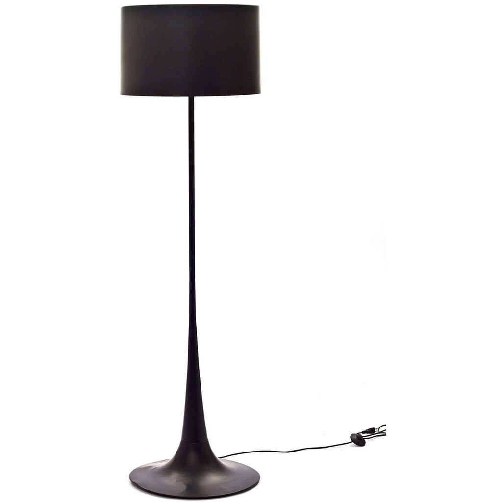 Modway Furniture Silk Floor Lamp Black, Lighting - Modway Furniture, Minimal & Modern - 1