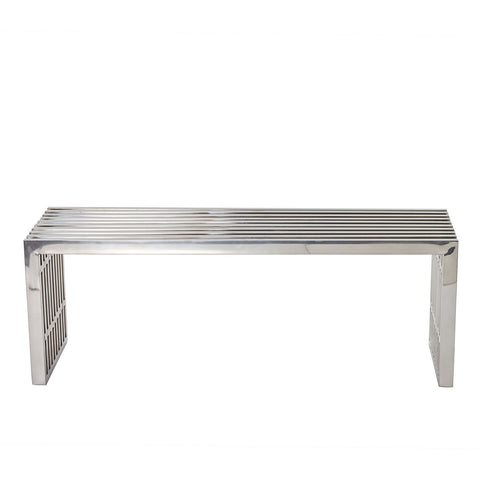 Modway Furniture Gridiron Medium Bench , Benches - Modway Furniture, Minimal & Modern - 1