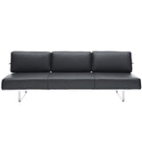 Modway Furniture Charles Convertible Sofa Black, Sofas - Modway Furniture, Minimal & Modern - 4