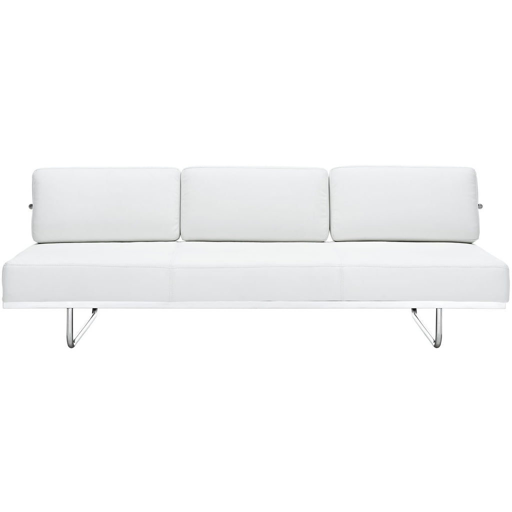 Modway Furniture Charles Convertible Sofa White, Sofas - Modway Furniture, Minimal & Modern - 1