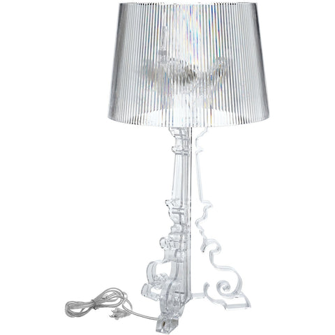 Modway Furniture French Grand Table Lamp Clear, Lighting - Modway Furniture, Minimal & Modern - 1