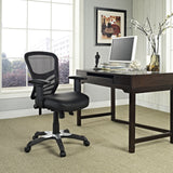 Modway Modern Articulate Vinyl Adjustable Computer Office Chair - Minimal & Modern - 4