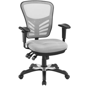 Modway Modern Articulate Adjustable Computer Office Chair - Minimal & Modern - 17