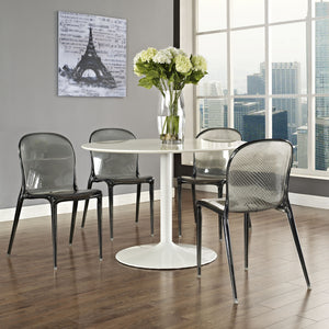 Modway Furniture Scape Modern Dining Side Chair EEI-789-BLK-Minimal & Modern